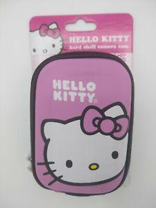 Hello Kitty Sakar Sanrio Hard Shell Camera Case Pink NEW Free Shipping HS-5009