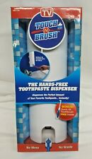 Touch N Brush As Seen On TV Hands Free Toothpaste Dispenser Sonic 4X Toothbrush