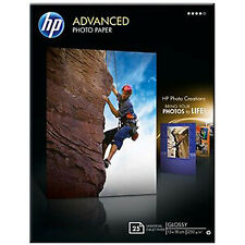Papel Fotográfico HP Advanced glossy 5 X 7 - 25 hojas