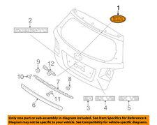 KIA OEM 11-15 Sorento Liftgate Tailgate Hatch-Emblem Badge Nameplate 863531F500