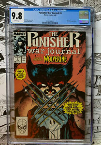PUNISHER WAR JOURNAL #6  |  CGC 9.8!!  |  Wolverine appearance  |  CGC 9.8