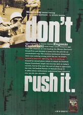 "Nescafe Blend 37 ""Eugenio Castellotti"" 1998 Mag Advert #2412"