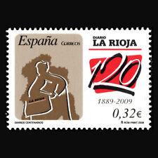 Spain 2009 - 120th Anniversary of the Newspaper Diario de La Rioja - Sc 3619 MNH