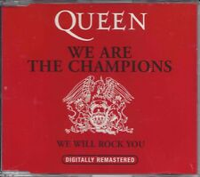 Queen ‎– We Are The Champions    Maxi cd  2  tracks  Dutch press