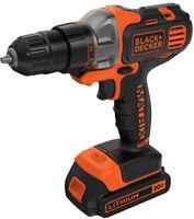 BLACK+DECKER 20-Volt MAX* Matrix Lithium Cordless Drill, BDCDMT120C