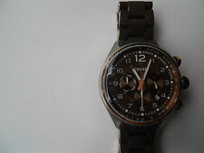 Brand New Fossil chronograph men's Analog & water resistant Dress watch.Ch-2727