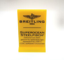 BREITLING AUFSTELLER SUPEROCEAN STEELFISCH A17360 STEELFISH I140