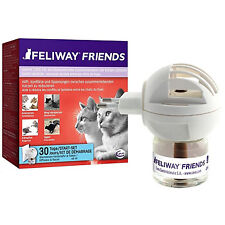 Ceva Feliway Friends Diffuser + Refill - 48ml for 1 Month, (to reduce tension an