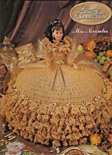 Miss November GEMS OF THE SOUTH Collection Annies Fashion Doll Crochet Pattern