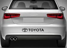 Rear Bumper Stickers Fits Toyota Logo Vinyl Decal Premium Quality XZ105