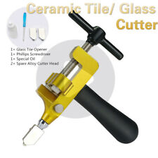 Oiled Professional Ceramic Tile Glass Cutter Multi-Function Durable Roller