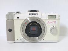 PENTAX Q 12.4MP Digital Camera - White (Body Only) free shipping JAPAN