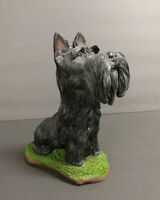 Scottish Terrier Dog Figurine Statue Pet Puppy Resin Collectible New