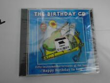 THE BIRTHDAY CD - 50 INSTRUMENTAL VERSIONS OF HAPPY BIRTHDAY TO YOU -NEW