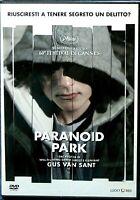 PARANOID PARK (2007) un film di  Gus Van Sant - DVD EX NOLEGGIO LUCKY RED