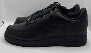 Nike Air Force 1 Low Triple Black '07 CW2288-001 Men's US Size 11 BRAND NEW