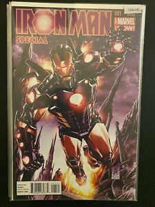 Iron Man 1 Variant Special Edition High Grade Marvel Comic CL92-161