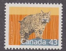 Canada 1988 #1170 Mammal Definitives - Lynx - MNH - Value $1.50