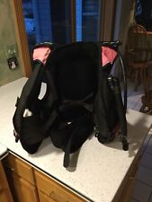 Scubapro Classic Scuba Diving Bcd Size Small Scubapro Power Inflator Pink Used