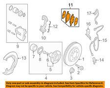 MAZDA OEM 04-13 3 Brake-Front Pads B4YB3323Z