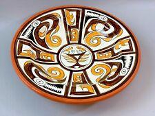Ceramic Hand Painted Glazed Bowl 12 inch