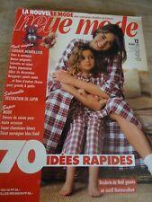"""👗 MAGAZINE VINTAGE """"NEUE MODE TENUES DE SOIREE BLOUSES JUPES DECEMBRE   1993"""