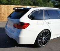 Rear Boot Door BLACK GLOSS Roof Perormance Spoiler For BMW 3 Series F31 Touring