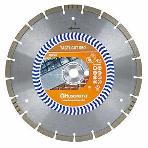 "Husqvarna Tacti-Cut S50 300mm 12"" General Purpose Diamond Cutting Blade Disc ..."