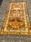 Antique Hand Knotted Cotton Rug