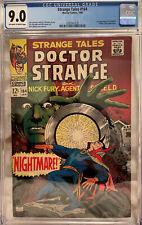 Strange Tales #164 CGC 9.0 OW/W - 1st Appearance of Yandroth & James Bond