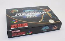 SUPER METROID ERIS SUPER NINTENDO SNES PAL NTSC