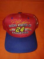 Nascar Winston Cup #24 Champion Jeff Gordon 1997 Hat snap back