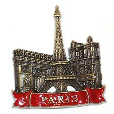 Eiffel Tower Paris Tourist Travel Souvenir 3D Metal Fridge Magnet Gift