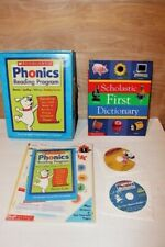 Scholastic At Home Phonics Reading Program Set Workbooks & More Home school