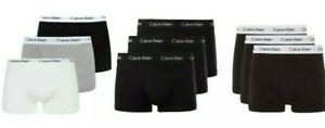 Calvin Klein CK Boxershorts Herren Unterwäsche Low Rise Trunks 3er Pack NEU