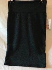 Lularoe Cassie Skirt. Dark Green/Leaf Pattern. Size XS. NWT. Charity Sale.