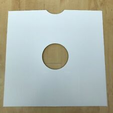 "50 Very High Quality 10"" White Card 78 RPM Record Sleeves Covers"