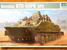 Trumpeter 1:35 BTR-50PK apc russian military vehicle model kit