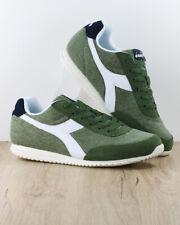 Diadora Scarpe Sportive Sneakers Lifestyle Sportswear Verde Jog Light canvas