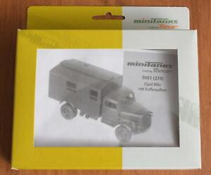 HO Scale-Roco Minitanks 5051 Opel Blitz 3-Ton German Army Plastic Kit NEW
