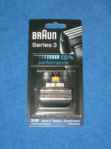 Braun Series 3 30B Cassette Foil & Cutter Pack Replacement Head 7000/4000 Series