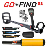 Minelab GO-FIND 22 Metal Detector with PRO-FIND 15 Pinpointer & Holster