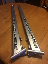Yamaha Snowmobile SRX SXr XT Trailing Arm Right Left New Silver Bushings Decals