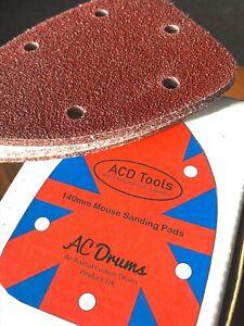 40 X Mouse Sanding Sheets Mouse Palm Sander Sandpaper