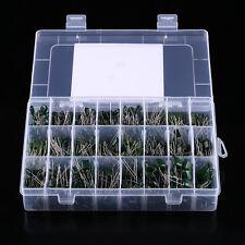 100V 24value 660pcs Polyester Film Capacitor Assorted Kit Box Assorstment