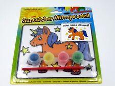 Suncatcher Unicorn Set Kids Crafts Summer Hobby Painting Fun Paint Brush Kit Fun