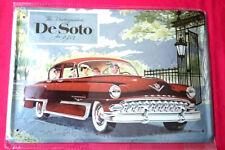 Blechschild 20x30 DeSoto De Soto Firedome 1953 US Classic Car Oldtimer Schild