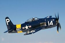 Grumman F8F Bearcat Single-Engine Fighter Aircraft Wood Model Free Shipping