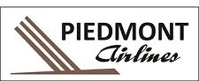 A174 Piedmont Airlines Airplane banner hangar garage decor Aircraft signs