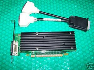 NVidia NVS 290 PCIe 256MB Dual Monitor Graphic Card NEW
